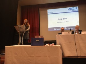 Iona's speech to credit unions; how can they help the young?